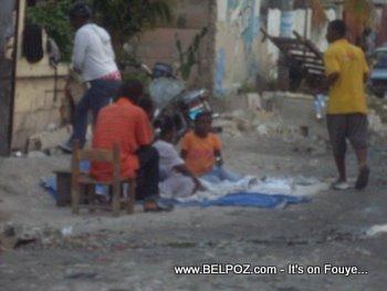 Homeless After Haiti Earthquake