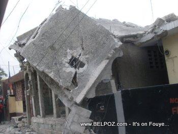 Haiti Earthquake Damages Carrefour Haiti