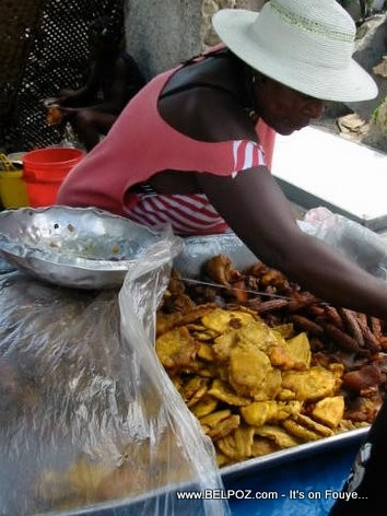 Haiti Fritay, Bannann Peze, Akra, Marinad, Griot