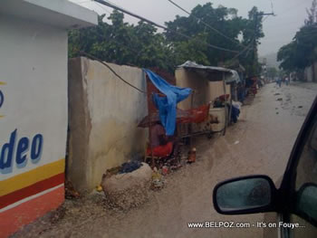 Rain In Port Au Prince Haiti