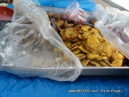 Bannann Peze - Fried Plantain - Haitian Fritay | BelPoz