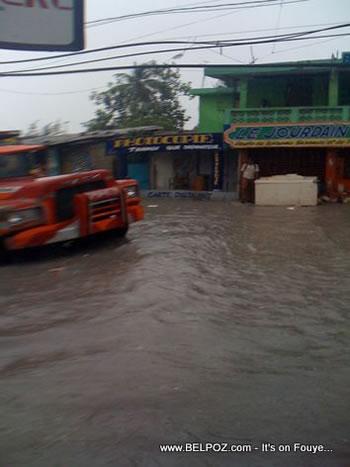 Rain In Port Au Prince Haiti