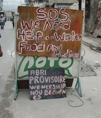 Haiti SOS - We Need Food And Water