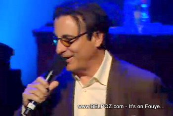 Andy Garcia George Lopez Help Haiti Concert