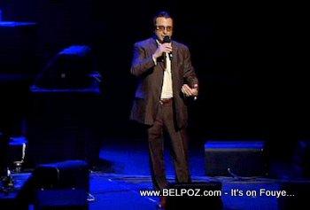 Andy Garcia George Lopez Help Haiti Concert