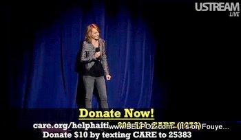 Amber Valetta George Lopez Help Haiti Concert
