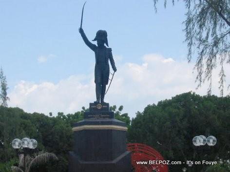 Jean-Jacques Dessalines Statue - Arcahaie Haiti