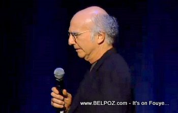 Larry David George Lopez Help Haiti Concert