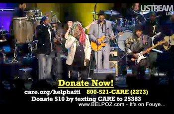 Georges Clinton George Lopez Help Haiti Concert
