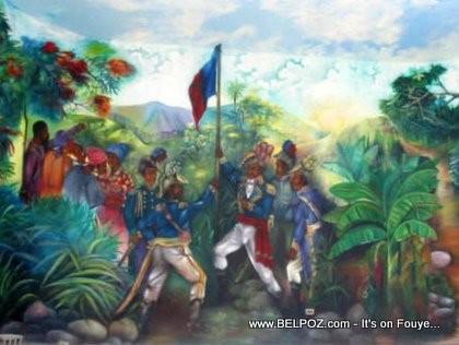 Raising The Haitian Flag, Arcahaie Haiti