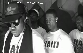 Coulgi I&I and other Haitian Rappers In Studio