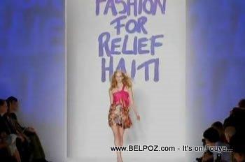 Fashion Relief For Haiti Mercedes Bens Fashion Week