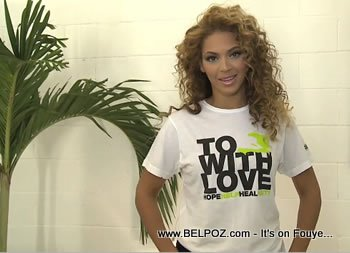 Beyonce Fashion For Haiti Ralph Lauren Haiti Relief Shirts