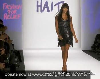 Naomi Campbell Fashion Relief For Haiti Mercedes Bens Fashion Week