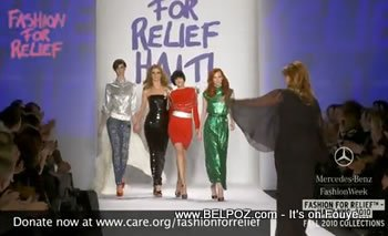 Fashion Relief For Haiti Mercedes Bens Fashion Week