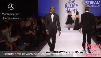 Chris Brown Fashion Relief For Haiti Mercedes Bens Fashion Week