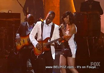 Wyclef And Keri Hilson NAACP Image Awards