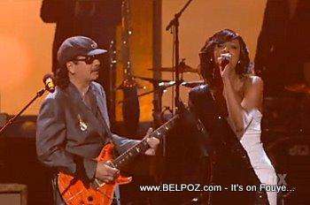 Wyclef Keri Hilson And Santana At The NAACP Image Awards