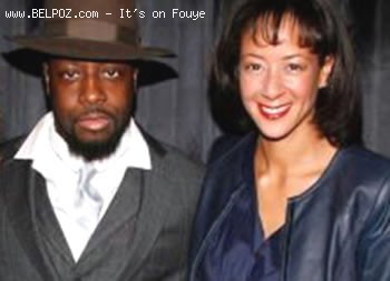 Wyclef Jean and Lisa Ellis