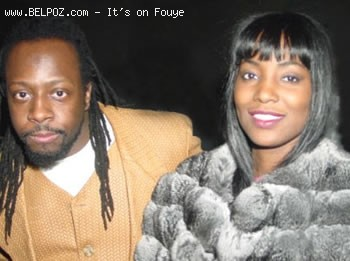 Wyclef Jean And Wife Marie Claudinette