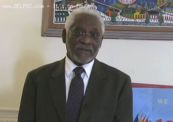 Haitian Ambassador Raymond Joseph