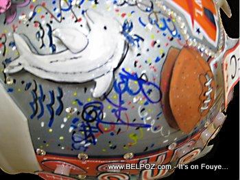 Super Bowl XLIV Helmet For Haiti Relief