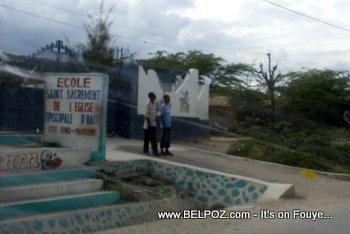 Ecole Saint Sacrement Fond Parisien Haiti