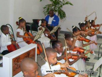 graduation day, New victorian school Haiti