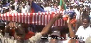Haitian Riot - Manifestation En Haiti