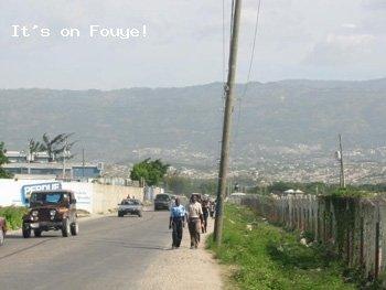 Arcahaie to Port-au-Prince 23 Apr 04