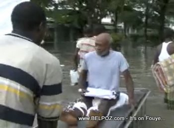 Hospital Flood Patient Evacuation Les Cayes Haiti