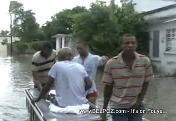 Hospital Flood Patient Evacuation Les Cayes Haiti