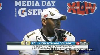 NFL Jonathan Vilma Haitian American Football Player