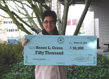 She Won The Lottery After Donating To Haiti