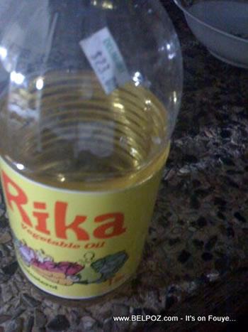 Rika Vegetable Oil Haiti