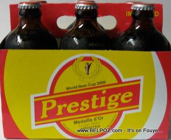 prestige beer bottle
