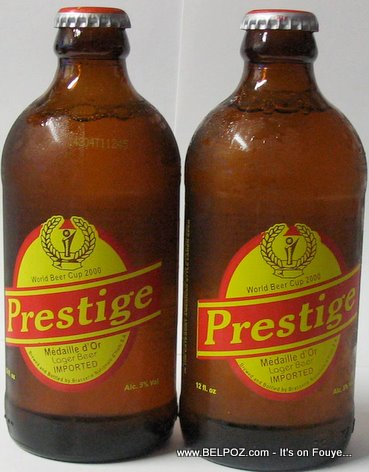 prestige imported beer from haiti