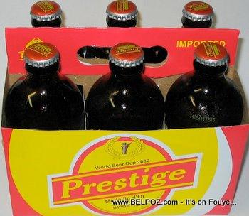 Haitian beer prestige