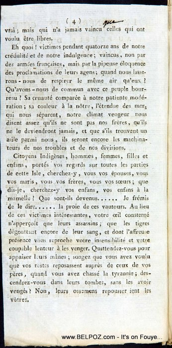 The Haitian Declaration Of Independence Page 4