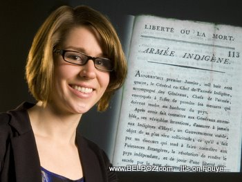 Julia Gaffield Discovers Original Copy Of Haiti Declaration Of Independence