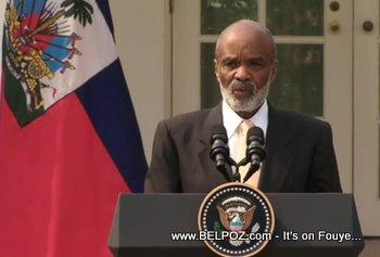 Haiti President Rene Preval
