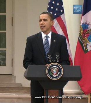 Barack Obama, White House Lawn