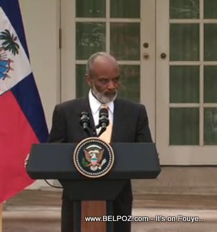 Haitian President In Washington