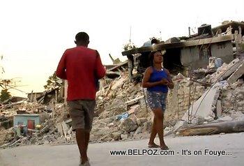 Haitians Homeless After The Earthquake