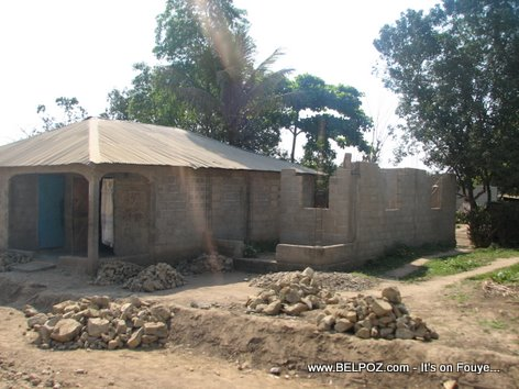 a country house in Haiti