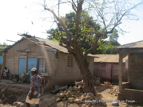 Haiti home on the country side