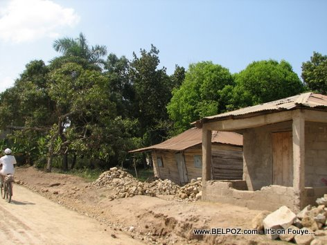 Haiti country home, en route to Ouanaminthe