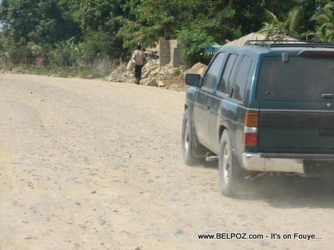 Nissan Pathfinder En Route To Ouanaminthe Haiti