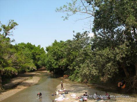 Rivers In Haiti, Near Ouanaminthe
