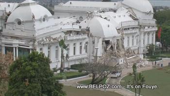 Collapsed Haiti National Palace